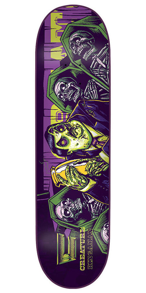 Creature Creaturemania Bingaman Skateboard Deck - Purple - 32.0in x 8.375in