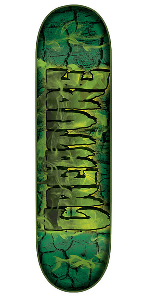 Creature Team Inferno SM Skateboard Deck - Green - 31.4in x 7.7in
