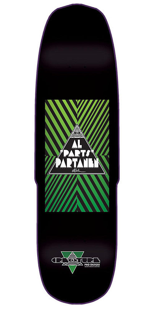 Creature Partanen Designs Skateboard Deck - Black - 32.08in x 8.5in