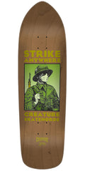 Creature Anza Strike Team Skateboard Deck - Brown - 32.25in x 8.5in