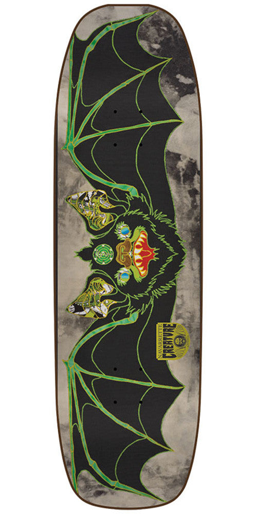 Creature Navarrette Venom Stitches Pro Skateboard Deck - Green - 32.57in x 8.8in