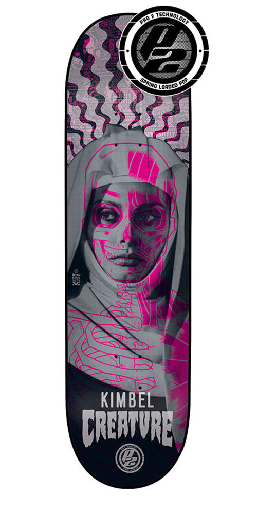 Creature Kimbel Anatomy Pro P2 Skateboard Deck - Multi - 32.5in x 8.8in