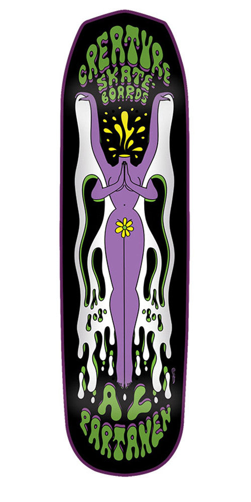 Creature Partanen Shakra MD Pro Skateboard Deck - Black - 32.195in x 8.35in