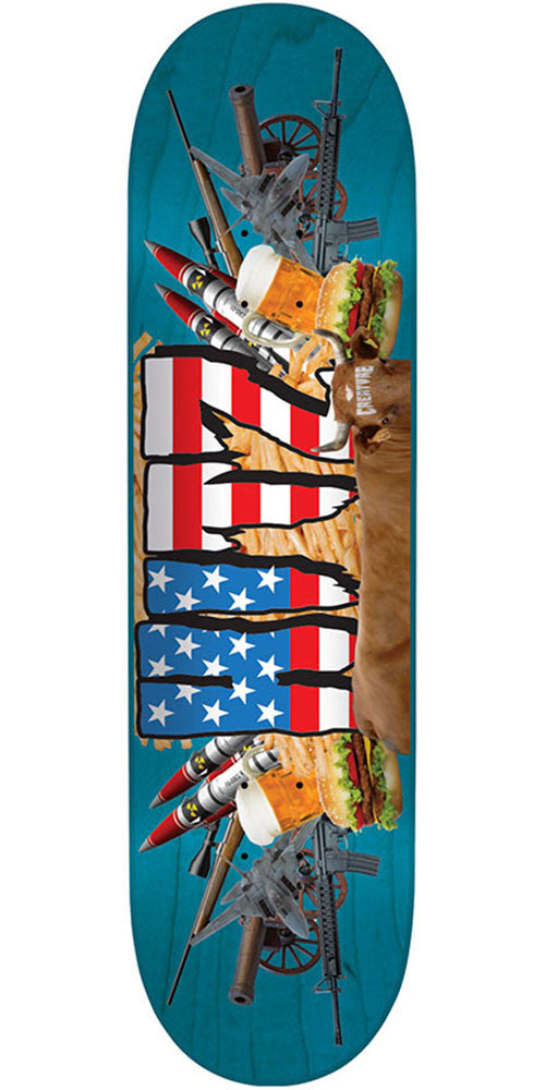 Creature Hitz Logo Pro Skateboard Deck - Multi - 32.3in x 8.6in