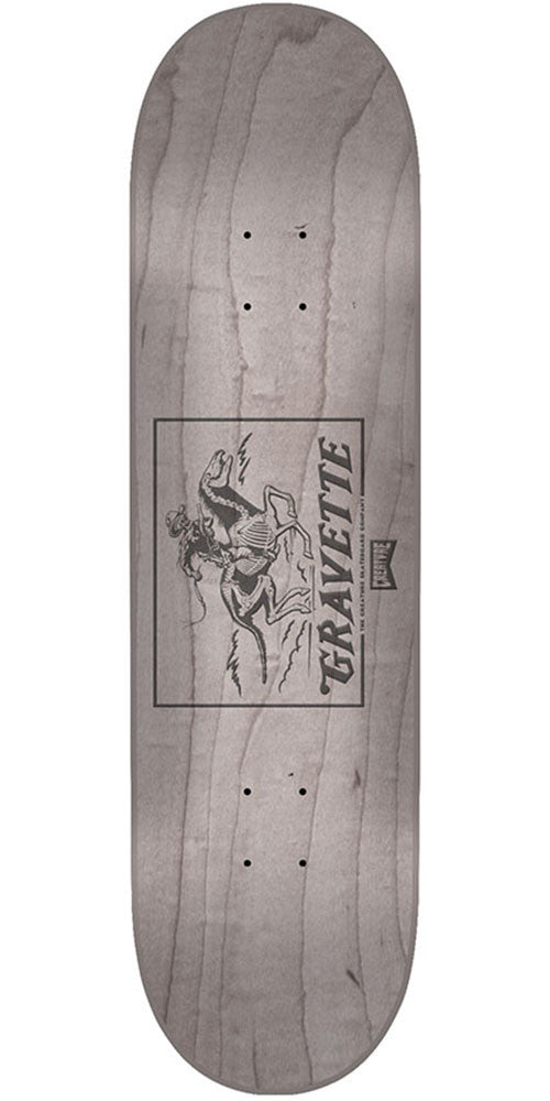 Creature Gravette Marksman Pro Skateboard Deck - Assorted - 31.9in x 8.2in