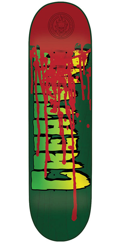 Creature Good Times Pro LG Skateboard Deck - Green - 31.7in x 8.26in