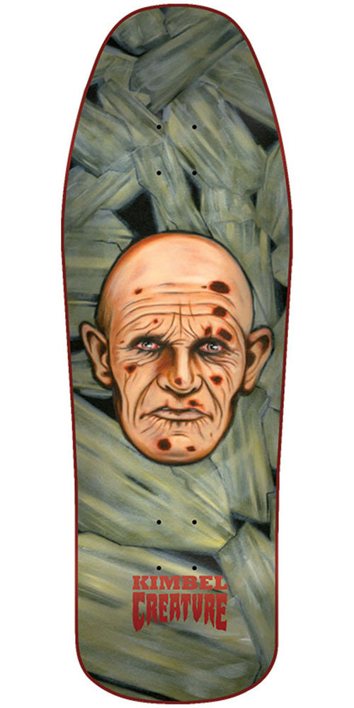 Creature Kimbel Scratch A Tweaker Team Skateboard Deck - Multi - 31.3in x 10.0in