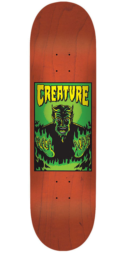Creature Hell MD Team Skateboard Deck - Orange - 32.35in x 8.6in