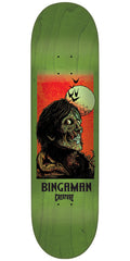 Creature Bingaman Viscerous Pro Skateboard Deck - Green - 8.375in x 32in