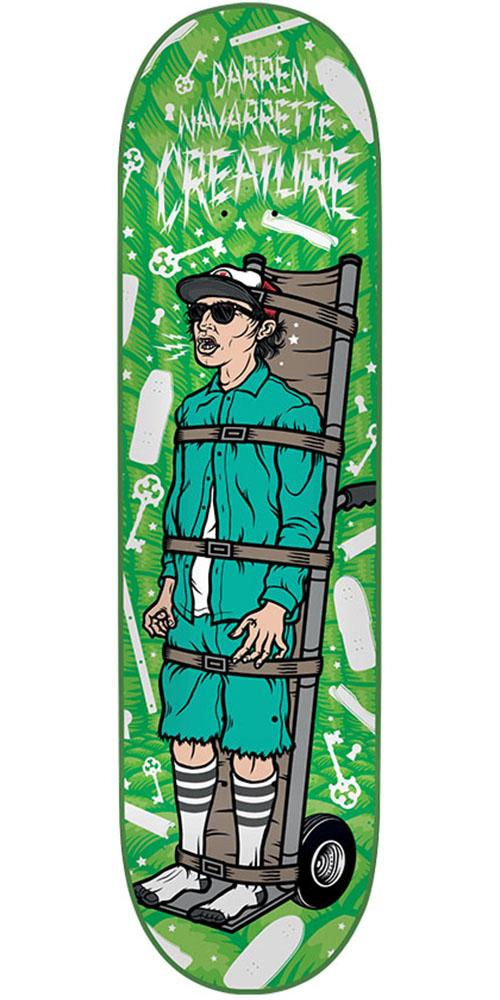 517b3949 Creature Navarrette Psych Ward Skateboard Deck - Green - 8.8in x 32.5in.  Enlarge Image