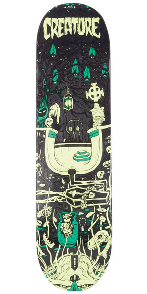 Creature Evil Roots Skateboard Deck - Multi - 8.0in x 32.04in