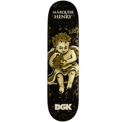 DGK Henry Cherubs Skateboard Deck - Black - 8.25in