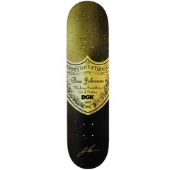 DGK Johnson Bottle Service Skateboard Deck - Black - 8.0in