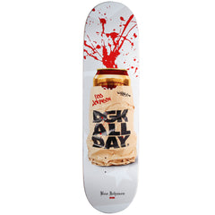 DGK Johnson Spray Cans Skateboard Deck - White - 8.38in