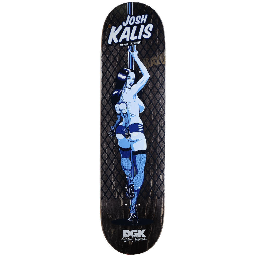 DGK Kalis Dirty Ghetto Strippers Skateboard Deck - Assorted - 8.1in