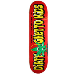 DGK Weight Skateboard Deck - Red - 8.1in