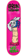 Heroin Gou Miyagi Scary Monsters Skateboard Deck - 8.0in - Pink