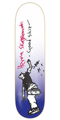 Heroin Good Shit Reissue Skateboard Deck - 8.125in - Blue/White