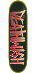 Deathwish Deathspray Safari Skateboard Deck 8.387- Black/Red