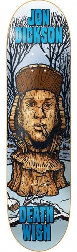 Deathwish JD Ruins Skateboard Deck 8.38 - Blue/White