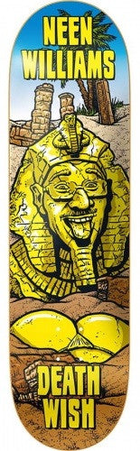 Deathwish NW Ruins Skateboard Deck 8.47 - Gold