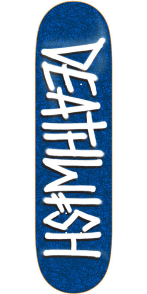 Deathwish Deathspray Sketchy Skateboard Deck - 8.0in - Blue