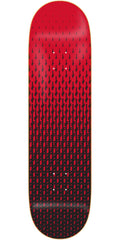 Deathwish Gang Logo Fadeout Skateboard Deck - 8.25in - Black/Red