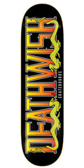 Deathwish Fatality Skateboard Deck - 8.0in - Black