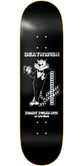 Deathwish Cool Cat Skateboard Deck - 8.0in - Black