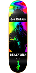 Deathwish Dickson Colors of Death Skateboard Deck - 8.125in - Multi