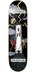 Deathwish Dickson Tarot Card Skateboard Deck - 8.3875in - Multi