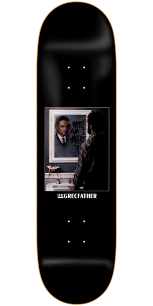 Deathwish Jim Greco Grecfather Skateboard Deck - 8.25in - Black