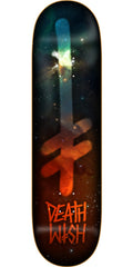 Deathwish Gang Logo Nebula Skateboard Deck - 8.25in - Multi