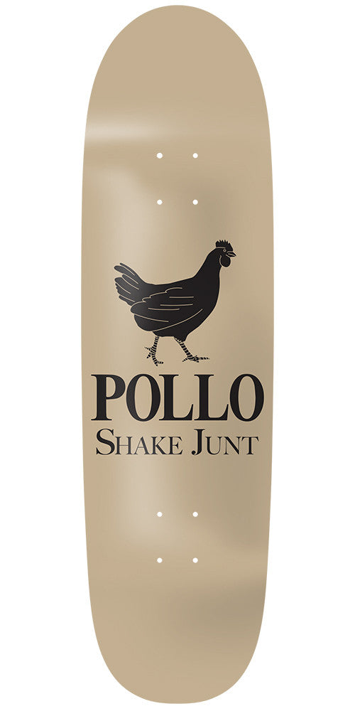 Shake Junt Pollo Cruiser Skateboard Deck - 8.75in - Tan