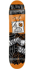 Slave Mumford Automaton Skateboard Deck 8.5 - Orange