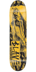 Slave Bass Destruction Skateboard Deck - Yellow - 7.75in