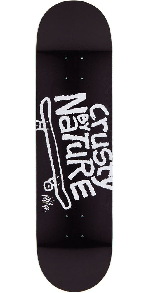 Sk8mafia Kremer Crusty By Nature Skateboard Deck - Black - 8.25in