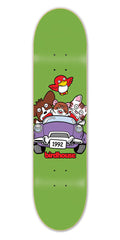 Birdhouse Team Bunch Skateboard Deck 8.25 - Green