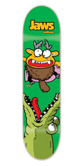 Birdhouse Jaws Gatorbait Skateboard Deck 8.125 - Green