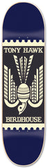 Birdhouse Toon Hawk Stamp Skateboard Deck 7.75 - Navy