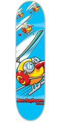 Birdhouse Raybourn Copter Skateboard Deck - Blue - 8.1