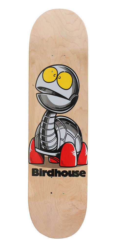 Birdhouse Team Turtle Skateboard Deck - Natural - 8.375