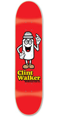 Birdhouse Toon Walker Skateboard Deck - Red - 8.5