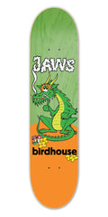 Birdhouse Jaws Dragon Skateboard Deck - Green/Orange - 8.0
