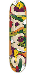 Birdhouse Jaws Veg Skateboard Deck - Assorted - 8.3in