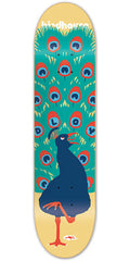 Birdhouse Loy Peacock Skateboard Deck - Beige - 8.25in