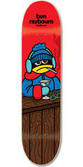 Birdhouse Raybourn Chill Skateboard Deck - Red - 8.5in
