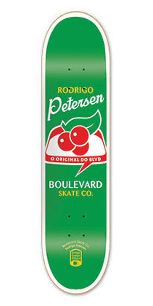 BLVD One Off Petersen Skateboard Deck - Green - 8.3