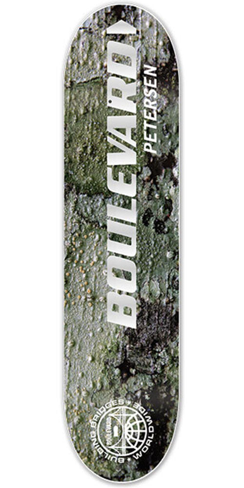 BLVD Petersen Motion Skateboard Deck - Multi - 8.25in