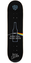 Stereo Kyle Leeper Beer Skateboard Deck - Black - 8.25in